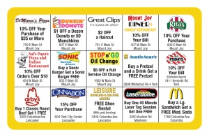 Cub Pack 150 Discount Card back